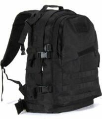 Merkloos / Sans marque Backpack - Militair Tactisch - Zwart - Wandelrugzak - Rugtas - Rugzak - 55 Liter