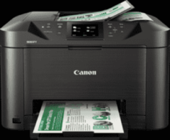 Canon MAXIFY MB5150 600 x 1200DPI Inkjet A4 24ppm Wi-Fi Zwart multifunctional