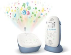 Witte Philips Avent DECT-babyfoon SCD734/26