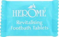 Herôme Herome Revitalising Footbath Tablets - 7 stuks - Voor een Voetbad - Verlichtend - Verfrissend - Verzachtend