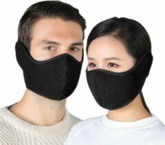Premium Commerce Mondkapje Wasbaar - Mondmasker - Facemask - Oorverwarmer - Ski Masker - Herbruikbaar - Zwart