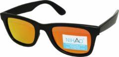 Zwarte Nihao Lugu Sportbril 1.1mm Polarized. TR-90 Ultra-Light frame Anti-Reflect coating.