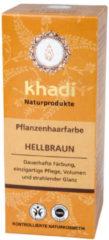Khadi Plantaardige haarkleuring00 g, Lichtbruin 100 g