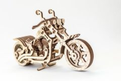 Eco-Wood-Art modelbouwpakket Motorfiets 22 cm hout 152-delig