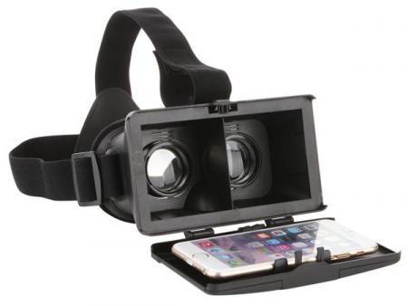 Afbeelding van Zwarte Velleman VR-BRIL VOOR SMARTPHONE - MAX. AFMETINGEN 154 x 82 mm