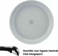 Grijze Tefal Ingenio Preserve Hoogwaardig Aluminium Koekenpan - 28 cm