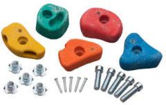 SwingKing klimsteen 5-delige set klein model met 2 gaten