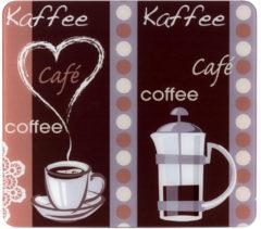 Wenko XL-Abdeckplatte, 50 x 56 cm, »Kaffeeduft«