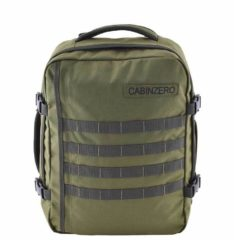 Groene Cabinzero Cabin Zero 28L Military Lightweight Cabin Bag military green
