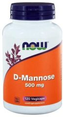 Now Foods Now D Mannose 500 Mg Trio (3x 120vcap)