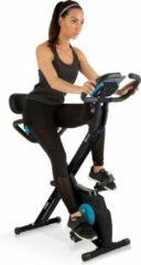 Capital_sports Azura M3 Pro hometrainer flexibele trekbanden riemaandrijving zwart