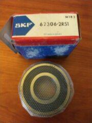 Lager SKF 62306 2RS1 Inwendige diam.: 30mm Uitwendige diam.: 72mm Breedte: 27mm
