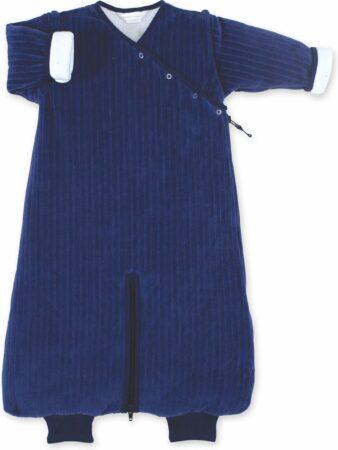 Afbeelding van Marineblauwe BEMINI slaapzak winter MAGIC BAG® Maat 3-9 maanden - 70cm – tog 3.0