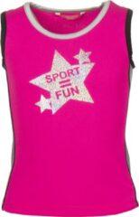 Papillon Tanktop Sport = Fun Meisjes Roze Mt 152