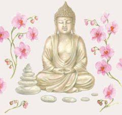 Ambiente Servetten Buddha 33cm 20st