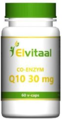 Elvitaal Co-enzym Q10 - 30 mg - 60 Capsules - Voedingssupplement