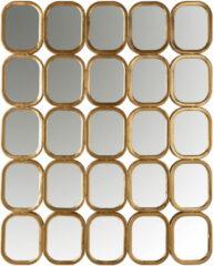 Richmond Interiors Richmond Spiegel 'Marila' kleur Goud, 99 x 79cm
