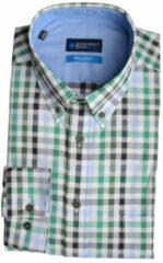 Bos Bright Blue Blue willem shirt casual bd 20107wi14bo/366 emerald groen