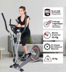 Grijze Care fitness crosstrainer CE-690
