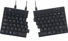 R-GO Tools Split Toetsenbord QWERTY, Engels Zwart Flexibel, Ergonomisch
