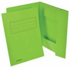 Classex Class'ex dossiermap, 3 kleppen, groen