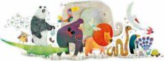 Djeco vloerpuzzel - dierenparade