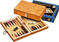 Philos Backgammon Korinth Mini 19.5x12.5cm
