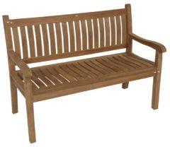 Outdoor Living NuKopen Tuinbank Teak houten tuinbank 2-persoons, 130cm