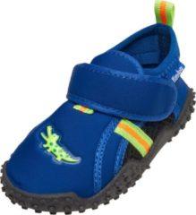 Playshoes UV waterschoenen Kinderen - Krokodil - Blauw/Groen - Maat 18/19