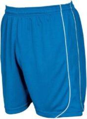 Precision Voetbalbroek Mestalla Unisex Polyester Blauw/wit Maat Xl