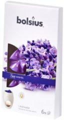 Bolsius Smeltbare geurwax Lavendel 6st