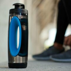 XD Design Bopp sport waterfles - Blauw