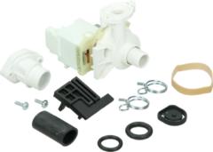 Whirlpool Ablaufpumpe mit Pumpenstutzen (Magnettechnikpumpe, 30 Watt) für Geschirrspüler 264981, 00264981