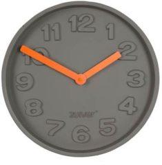 Grijze Zuiver Concrete Time Wandklok Ø 32 cm