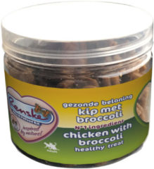 Renske Kat Gezonde Beloning Vleeshartjes - Kip & Broccoli - 100 gram