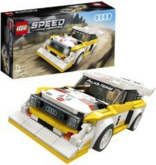 Witte LEGO Speed Champions 1985 Audi Sport Quattro S1 - 76897