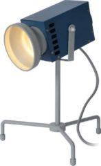 Lucide BEAMER - Tafellamp Kinderkamer - LED - 1x3W 3000K - Blauw