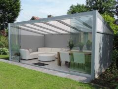 Van Kooten Tuin en Buitenleven Profiline terrasoverkapping - vrijstaand - 500x250 cm - polycarbonaat dak