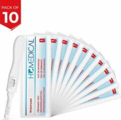 10 stuks - Zwangerschapstesten - Midstream Extra Vroeg - Homedical