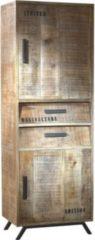 Möbel Ideal Schrank aus Massivholz naturfarben
