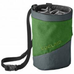 Edelrid - Chalk Bag Splitter Twist - Pofzakje maat One Size, zwart/olijfgroen/grijs
