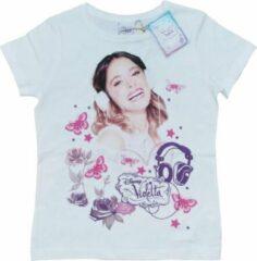 Witte Name it Meisjes T-shirt Maat 116
