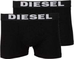 Diesel - Heren Onderbroeken 2-pack boxers - Zwart - Maat M