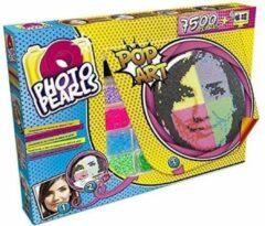 Gele GOLIATH - PhotoPearls - Pop Art - 7500 parels / strijkkralen