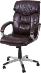 Heute-wohnen Bürostuhl Chefsessel Drehstuhl M61 Kunstleder, geeignet bis 2,00 m Körpergröße