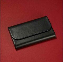Sigel Visitekaart etui Torino 25 kaarten (b x h x d) 102 x 65 x 15 mm Zwart Nappaleer VZ270