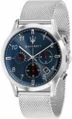 Maserati Ricordo R8873625003 - Horloge - chronograaf - zilverkleurig - 42mm