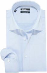 Lichtblauwe Recall Fit overhemd met lange mouwen licht blauw