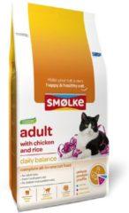 Smolke Cat Adult Kip&Rijst - Kattenvoer - 10 kg - Kattenvoer