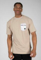 Gorilla Wear Dover Oversized T-shirt - Beige - M